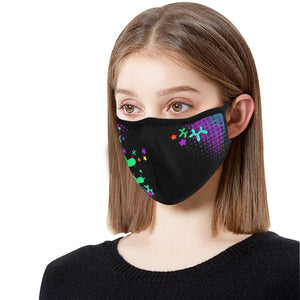 Space Dogs - Fitted 2 layer face mask with pocket for filter - Filter Not Included