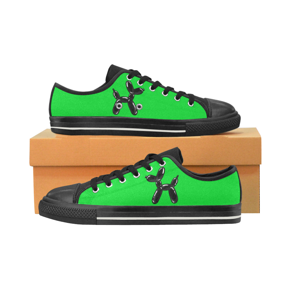 Green Wazowski- Women's Sully Canvas Shoes (SIZE 11-12)