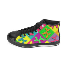 Load image into Gallery viewer, Retro Dogs - Men's Sully High Tops (SIZE 6-12)