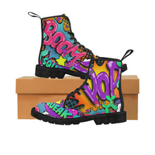 Load image into Gallery viewer, Leaky Squeaky BOOM! - Women's Ollie Boots (SIZE 6.5 - 12)