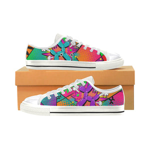 Colour Me Happy - Women's Sully Canvas Shoe (SIZE 11-12)