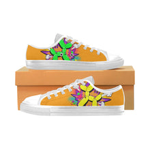 Load image into Gallery viewer, Comic Orange Ernie Men's Sully Canvas Shoe (SIZE 6-12)