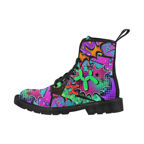 Sour Patch - Women's Ollie Combat Boots (SIZE 6.5-12)