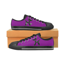 Load image into Gallery viewer, Purple Rain - Women's Sully Canvas Shoes (SIZE 11-12)