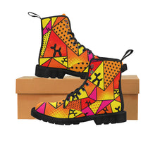 Load image into Gallery viewer, Flaming Moe's - Women's Ollie Combat Boots (SIZE 6.5 - 12)