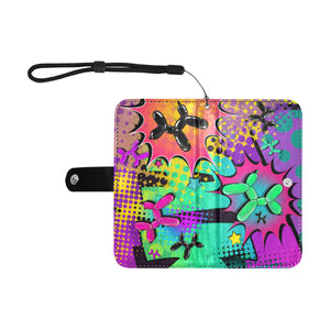 Psychedelic - 2 in 1 Phone Case and Wallet - SMALL