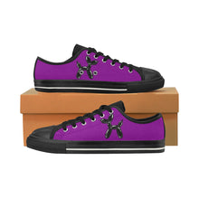 Load image into Gallery viewer, Purple Rain - Men's Sully Canvas Shoes (SIZE 13-14)