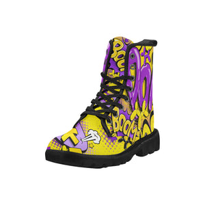 The Lyle BOOM! - Women's Ollie Combat Boots (SIZE 6.5 - 12)