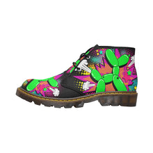 Load image into Gallery viewer, Balloon Dog Explosion - Men's Wazza Canvas Boots (SIZE 7-12)