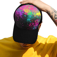 Load image into Gallery viewer, Paint Explosion on Black - Baseball Cap