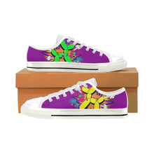 Load image into Gallery viewer, Comic Purple Rain Men's Sully Canvas Shoe (SIZE 13-14)
