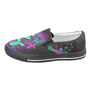 Space Dogs - Canvas Slip-On's (SIZE 11-12)