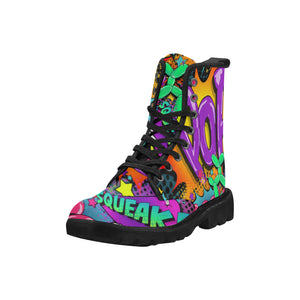 Leaky Squeaky BOOM! - Women's Ollie Boots (SIZE 6.5 - 12)