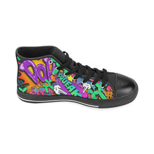 Load image into Gallery viewer, Leaky Squeaky BOOM! - Women's Sully High Tops (SIZE 11-12)
