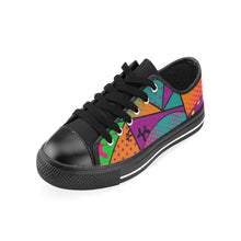 Load image into Gallery viewer, Colourful Black Dog - Women's Sully Canvas Shoes (SIZE 11-12)