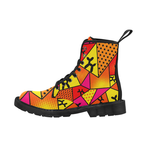 Flaming Moe's - Women's Ollie Combat Boots (SIZE 6.5 - 12)