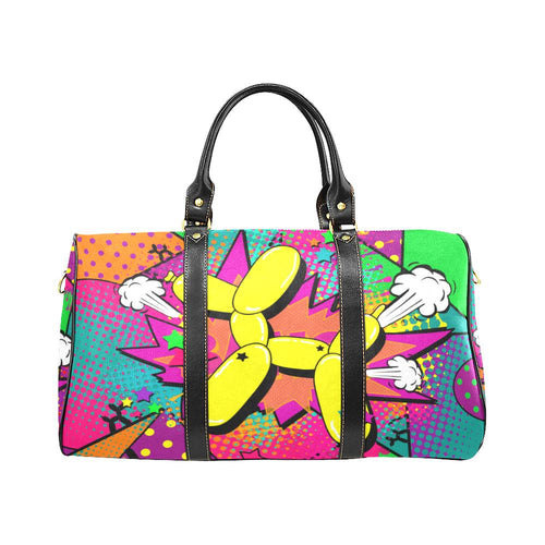 Technicolor Dog -Tam Travel Bag