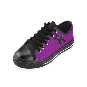 Purple Rain - Men's Sully Canvas Shoes (SIZE 6-12)