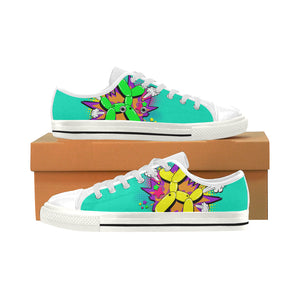 Comic Mermaid Fart - Men's Sully Canvas Shoe (SIZE 13-14)