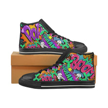 Load image into Gallery viewer, Leaky Squeaky BOOM! - Men's Sully High Tops (SIZE 6-12)