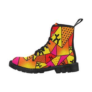 Flaming Moe's - Men's Ollie Combat Boots (SIZE 7-12)
