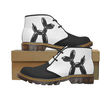 Load image into Gallery viewer, Classic Black And White - Men's Wazza Canvas Boots (SIZE 7-12)