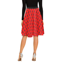 Load image into Gallery viewer, Balloon Dog Mirage on Red - Catie Circle Skirt