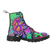 Load image into Gallery viewer, Sour Patch - Women's Ollie Combat Boots (SIZE 6.5-12)