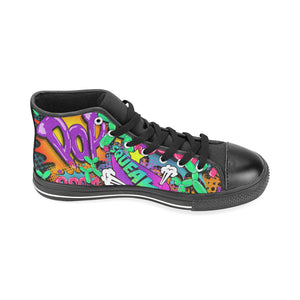 Leaky Squeaky BOOM! - Men's Sully High Tops (SIZE 13-14)