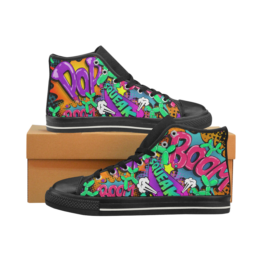 Leaky Squeaky BOOM! - Women's Sully High Tops (SIZE 11-12)