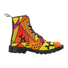 Load image into Gallery viewer, Flaming Moe's - Men's Ollie Combat Boots (SIZE 7-12)