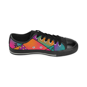 Colourful Black Dog - Women's Sully Canvas Shoes (SIZE 11-12)