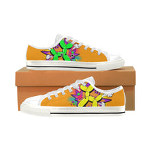 Load image into Gallery viewer, Comic Orange Ernie Men's Sully Canvas Shoe (SIZE 13-14)