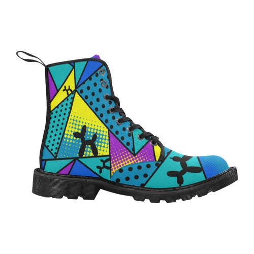Tropical Smurf - Men's Ollie Boots (SIZE 7 - 12)