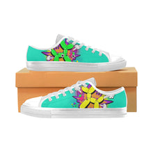 Load image into Gallery viewer, Comic Mermaid Fart - Men's Sully Canvas Shoe (SIZE 6-12)