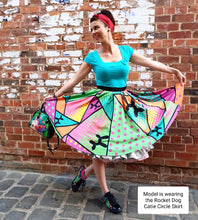 Load image into Gallery viewer, Kermits Revenge - Catie Circle Skirt