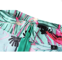 Load image into Gallery viewer, Tropical Green - Juliette Swing Skirt