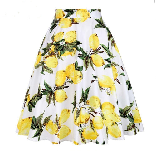Lemon - Juliette Swing Skirt