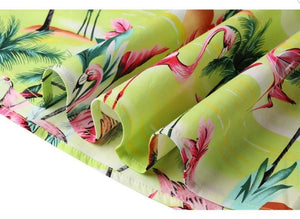 Tropical Flamingo - Juliette Swing Skirt