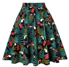 Load image into Gallery viewer, Tiki Toucan - Juliette Swing Skirt