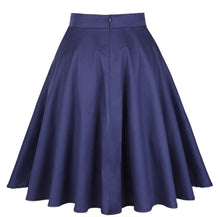 Load image into Gallery viewer, Navy Blue - Juliette Swing Skirt