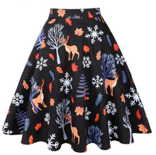 Load image into Gallery viewer, Subtle Christmas - Juliette Swing Skirt