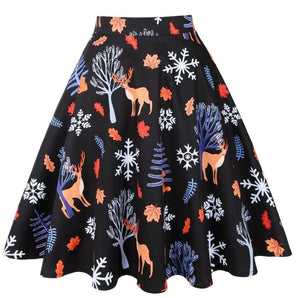 Subtle Christmas - Juliette Swing Skirt