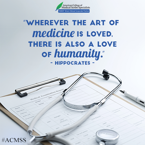 Wherever the art of medicine is loved...