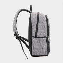 Load image into Gallery viewer, Three-piece backpack casual business computer backpack travel bag men and women high school students student bag