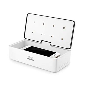 UV LED Sterilizing Box for Mobile Phone,Glasses,Watches,Nail Tool,Beauty Tool with 8 LEDs 59S S2