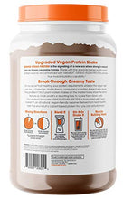Load image into Gallery viewer, Genius Vegan Protein Powder – Plant Based Lean Muscle Building Shake | Best Pea + Pumpkin Protein Sources – Ideal Lean Body Shake for Men & Women – All in One Nutritional Sport Drink (Dairy Free)