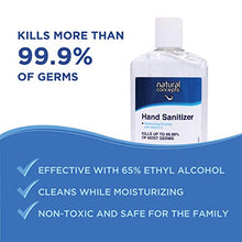 Load image into Gallery viewer, Natural Concepts Hand Sanitizer Gel, 6-Pack, 8 oz Bottles, 65% Ethyl Alcohol, Protect Against Germs On-The-Go with a Refreshing Vitamin E Formula