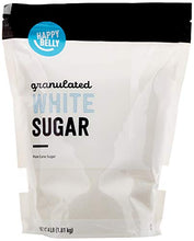Load image into Gallery viewer, Amazon Brand - Happy Belly White Sugar Granulated, 4lb