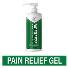 Load image into Gallery viewer, Biofreeze Pain Relief Gel, 32 oz. Pump, Colorless (Packaging May Vary)
